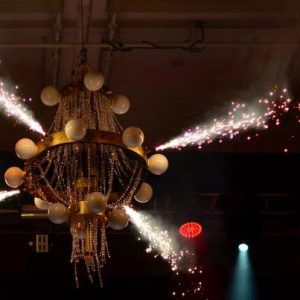 pyrotechnic chandelier